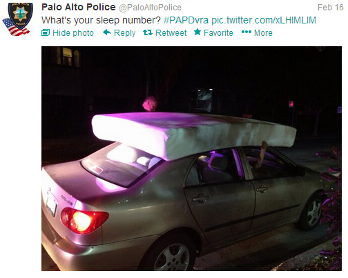 Government 2.0: Palo Alto Police Department's Twitter Ride-Along