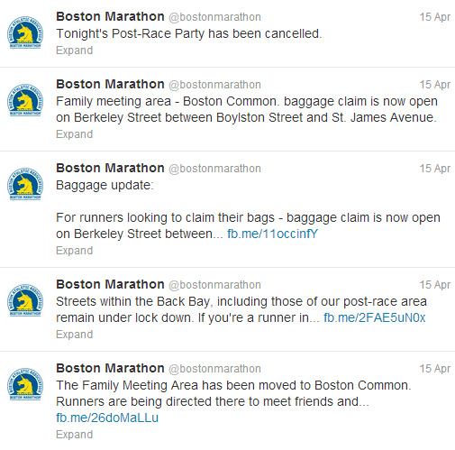 The Role of Social Media Following the Boston Marathon Bombings