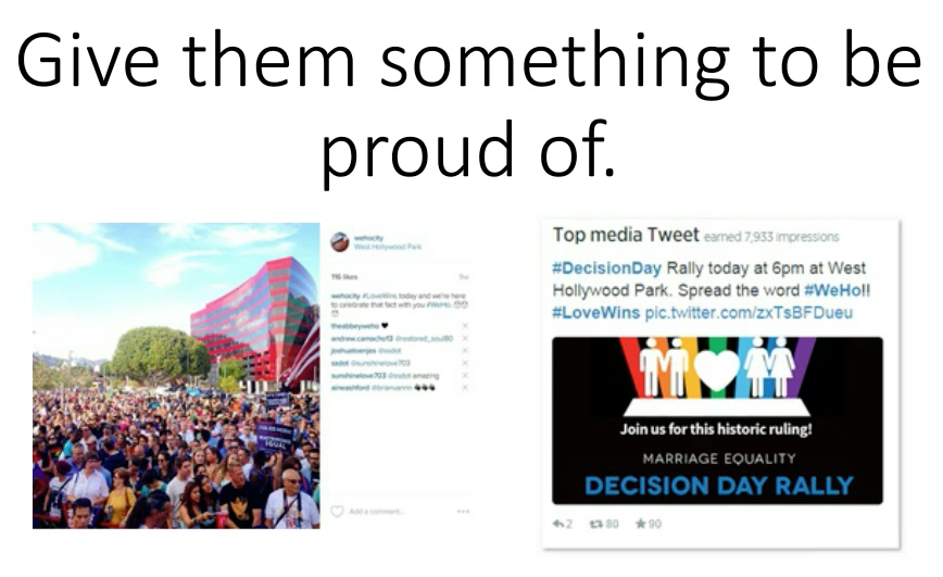 Give them something to be proud of