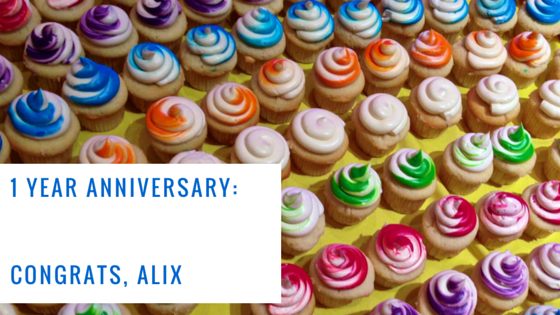 ArchiveSocial Team: Alix Turns 1!