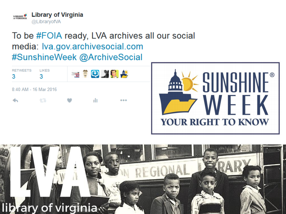 LIbrary of Virginia ArchiveSocial
