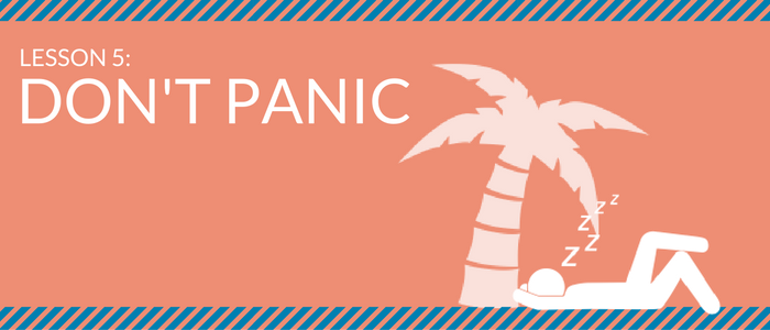 Social Media Crash Course for Government – Lesson 5: Don't Panic