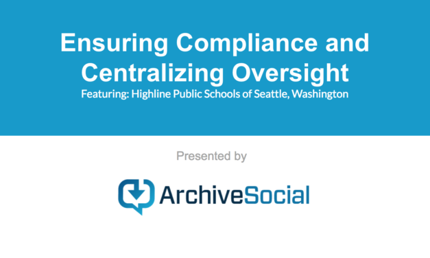 Ensuring Compliance and Centralizing Oversight