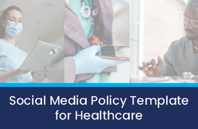 social media policy template for healthcare teaser