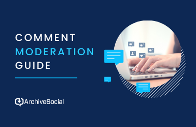 Social Media Comment Moderation Guide cover image
