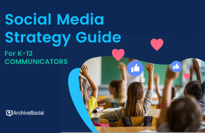 Social Media Strategy Guide for K-12 Communicators cover