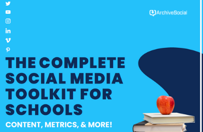 Complete Social Media Toolkit for Schools cover