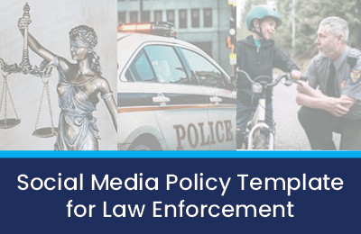 social media policy for law enforcement cover