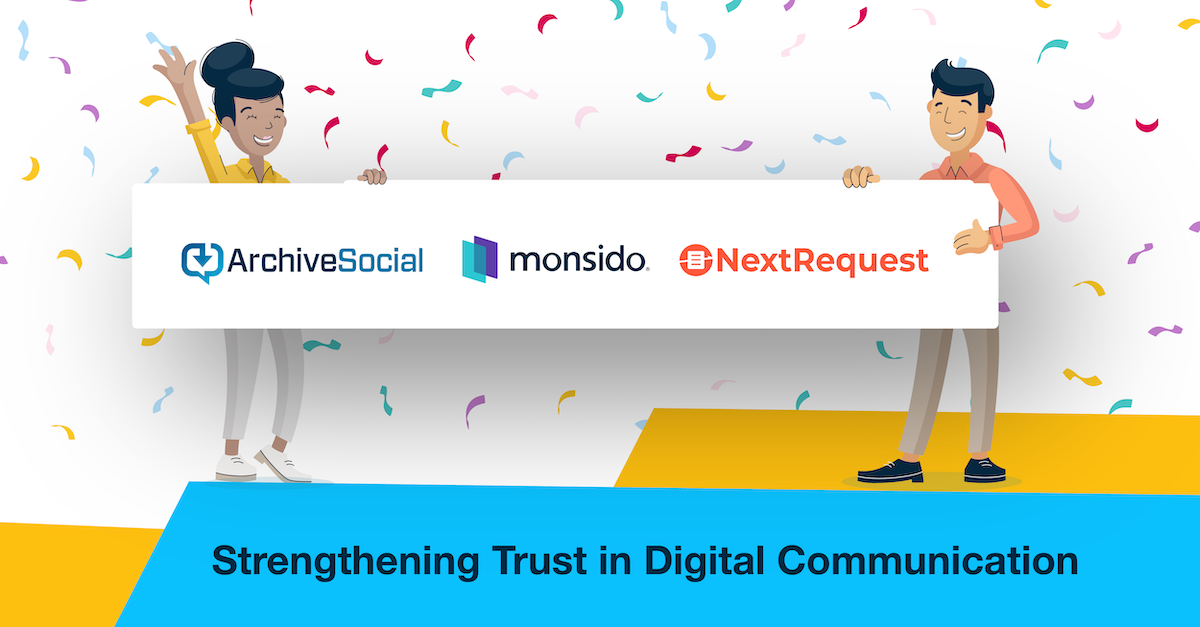 ArchiveSocial, NextRequest and Monsido combination launch