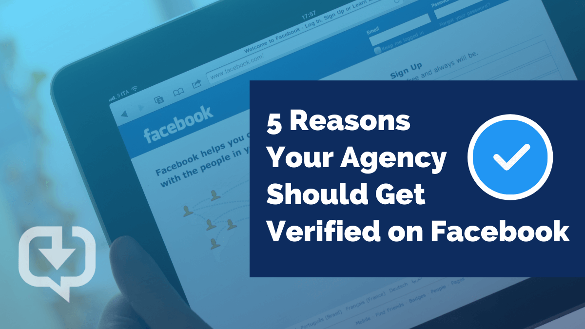 5 reasons your agency should get verified on facebook blog cover